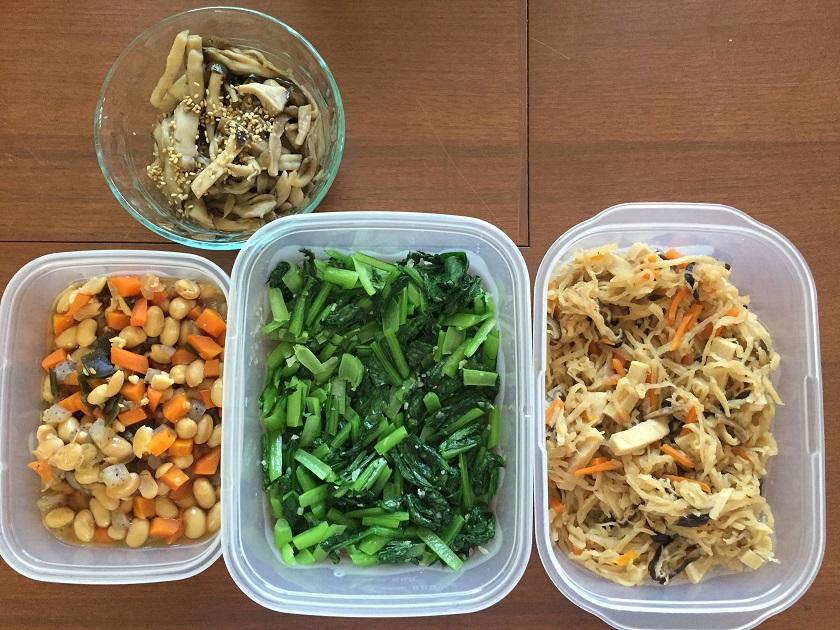 大豆と野菜を一緒に!